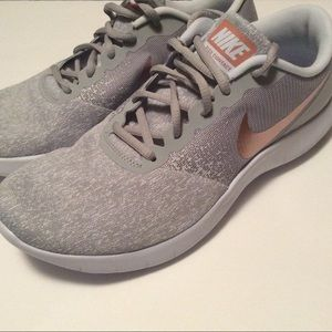 d57a4af5060 Nike Shoes - Nike Flex Contact Gray and Rose Gold Size 11